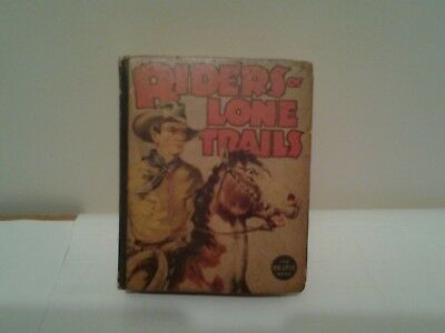the big little book  riders of the lone trails no.1425