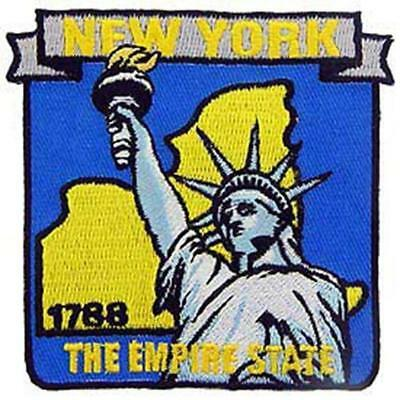 EagleEmblems PM6733 Patch-New York (State Map) (3.25'')