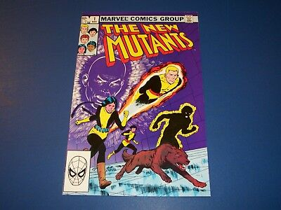 New Mutants #1 Bronze Age 1st issue VF/NM Beauty