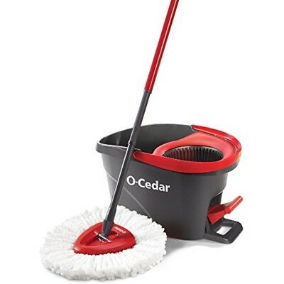 O-Cedar EasyWring Microfiber Rotating Spin Mop and Bucket Floor Cleaning System
