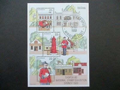 Australian Decimal Stamps MNH: Minisheets (Early & Recent) - Great Item! (H4373)