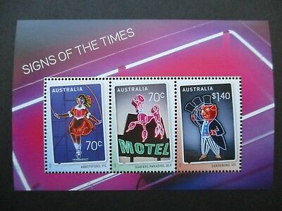 Australian Decimal Stamps MNH: Minisheets (Early & Recent) - Great Item! (H4321)
