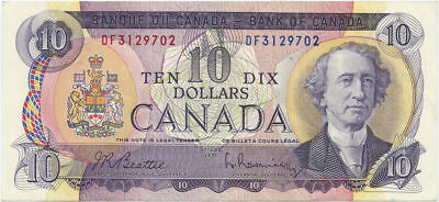 1971 Bank of Canada $10 Legal Tender Note Choice Uncirculated