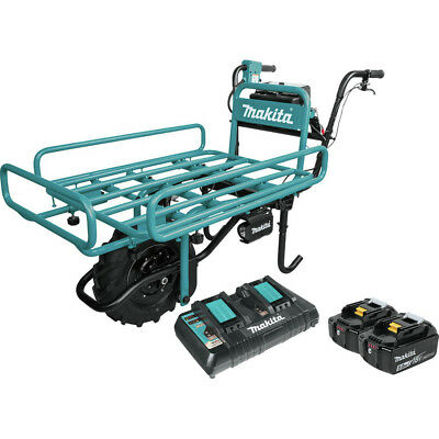 Makita 18V X2 LXT Hand Truck/Wheelbarrow Kit XUC01PTX2 New