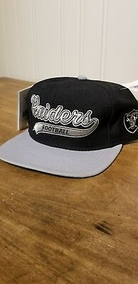 a31fb85d247 ... purchase vintage deadstock nwt los angeles oakland raiders starter  snapback hat nwa 6c1d0 c42a7