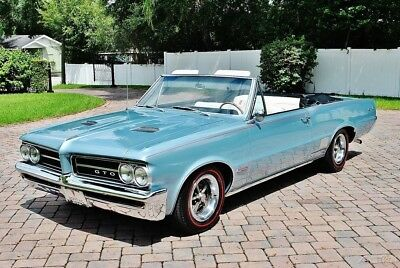 Pontiac GTO Convertible Fully Restored Absolutely Stunning none better Amazing 1964 Pontiac GTO Convertible Tribute Factory A/C Power Steering & Brakes
