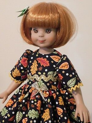 """Autumn Leaves Dress for 14 """" Betsy McCall Doll"""