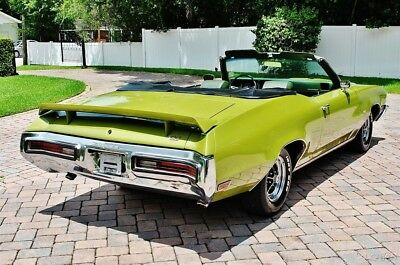 Buick Gran Sport VERY RARE 455 A/C Very Rare Stunning 72 Buick GS Convertible 455 V-8 Factory A/C
