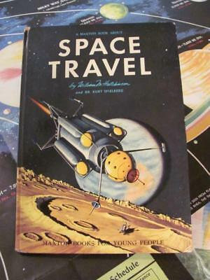 SPACE TRAVEL Spielberg & 1966 UNIVERSAL OUTER SPACE MAP Vintage Poster/Book L