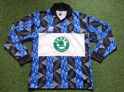 1. FC Saarbrücken Trikot XL 93/94 Lotto shirt Skoda Auto