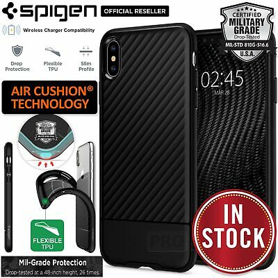 iPhone XS Max Case, Genuine SPIGEN Core Armor Protective TPU Cover for Apple