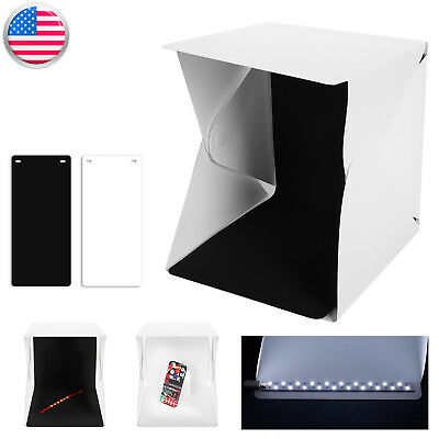 Profi Photo Studio Photography Light Box Lighting Tent Kit Backdrop Mini Room US