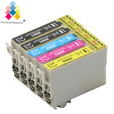 5 Ink Cartridge for Epson Expression Home XP255 XP435 XP442 XP445 UPGRADEDCHIP