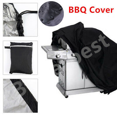 BBQ Cover Heavy Duty Waterproof Barbecue Grill Outdoor Protector UK BBTT