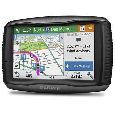 Garmin Zumo 595LM Motorcycle GPS Sat Nav Europe Lifetime Map Updates