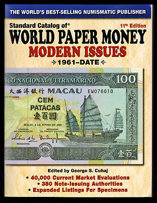 World Paper Money Modern Issues 11th Edition 1961 to date