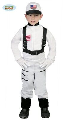 Astronaut Kostum Fur Kinder Karneval Party Weltraum Rakete All Weiss