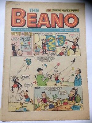 DC Thompson THE BEANO Comic. Issue 1497 March 27th 1971 **Free UK Postage**