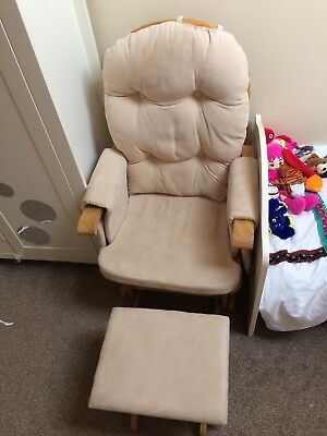 Baby Weavers Gliding Nursing Chair And Foot Stool
