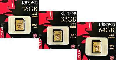 Kingston Ultimate 16GB 32GB 64GB SD SDHC SDXC UHS-1 class 10 Karte SD SDHC OVP
