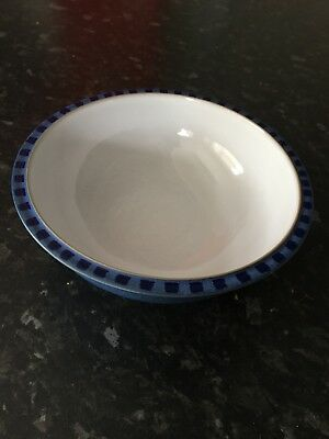 "Denby Reflex 7"" Cereal Bowl White used x 2"