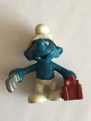 VINTAGE SMURF PLUMBER shipping is for up to 10 smurfs