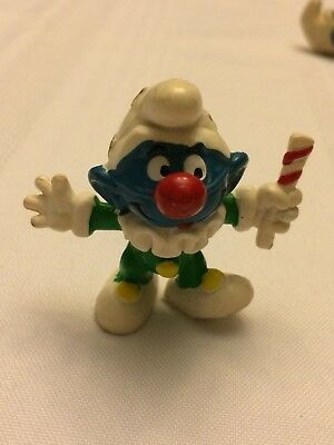 VINTAGE SMURF JESTER CLOWN shipping is for up to 10 smurfs
