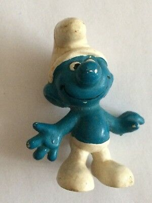 VINTAGE SMURF HAPPY shipping is for up to 10 smurfs