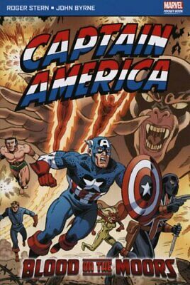 Captain America Blood on the Moors by Roger Stern (Paperback, 2011)