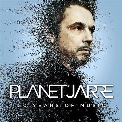 JEAN MICHEL JARRE  PLANET JARRE 50 Years of Music 2 CD NEW
