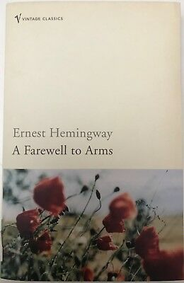 A Farewell to Arms by Ernest Hemingway, Paperback