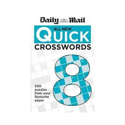 Daily Mail All New Quick Crosswords 8 by Daily Mail (author)