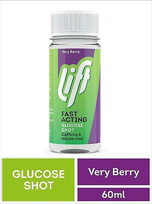 Lift Fast Acting Glucose Shot Berry Burst | Previously Glucojuice