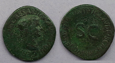 Roman Coin - Ae AS of Germanicus
