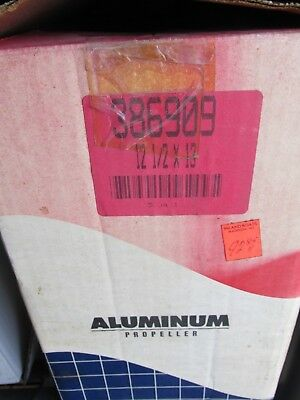 OMC Johnson 386909 12 1/2 x 13 Aluminum 3 Blade Propeller New in Box