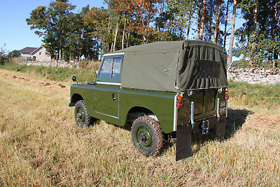 "1965 Land Rover Series 2a, 88"" SWB Petrol Soft Top"