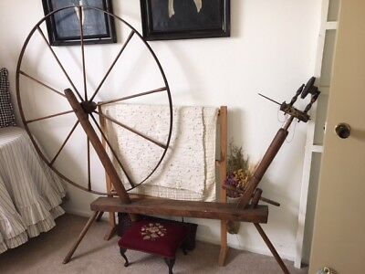 Antique WALKING spinning wheel GREAT condition *rare