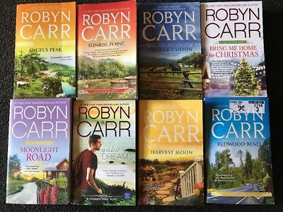 Robyn Carr Lot Of 8 Books!!! FREE SHIPPING - Romance Contemporary