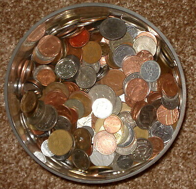 3 Pounds of WORLD COINS