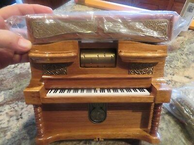 """Vintage PLAYER PIANO Telephone """"Grand Ole Opry"""" 1997 HSN Unused in O/B"""