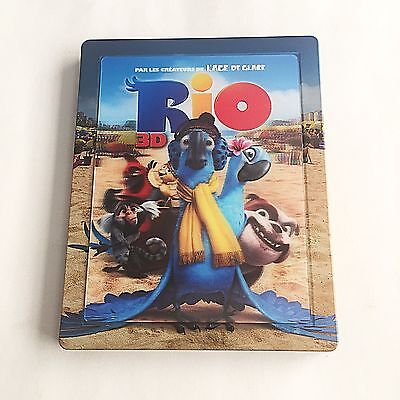 Rio Blu-ray (3D+2D) Steelbook [France] Lenticular Magnet Edition! RARE! MINT!