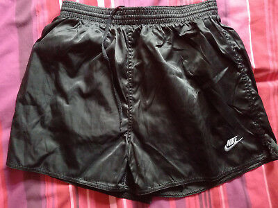 "Black Nike Football/Sports Shorts (Large 34""/36"") Nylon"