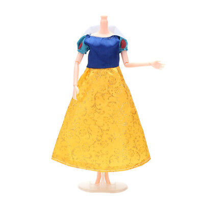 NEW Barbie doll clothes Disney doll snow white princess Toy dress doll clothes