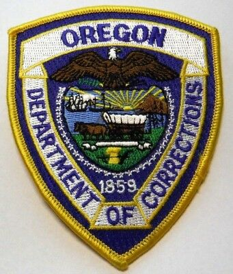 Oregon Department Of Corrections Patch Unused
