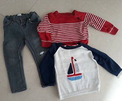 Next Boys Jeans And Next Jumpers 12-18months