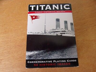 Titanic White Star Line Commenorative Playing Cards~Sealed