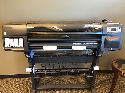 HP DesignJet 1050C Plus Inkjet Printer/Plotter - USED - LOCAL PICKUP ONLY