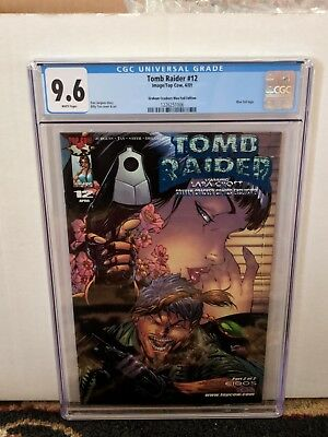 Tomb Raider #12 CGC 9.6 Graham Crackers Blue Foil Limited Edition 735/999 COA