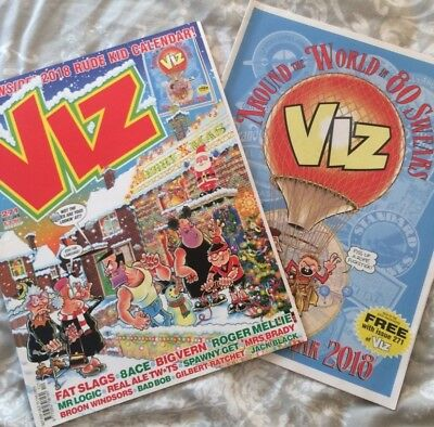 Viz Christmas Issue Dec17/jan18 And Calender