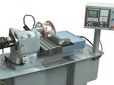 Hardinge Accuslide CNC Gang Tool Lathe - Easy to use! Very RIGID, FAST, ACCURATE